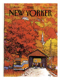 The New Yorker Cover - October 19, 1981 Premium Giclee Print by Arthur Getz