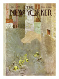 The New Yorker Cover - June 12, 1965 Regular Giclee Print by Laura Jean Allen