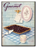 Gourmet Cover - July 1956 Premium Giclee Print by Hilary Knight
