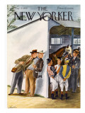 The New Yorker Cover - May 31, 1947 Premium Giclee Print by Constantin Alajalov