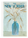 The New Yorker Cover - October 18, 1982 Premium Giclee Print by Joseph Farris