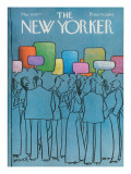The New Yorker Cover - March 14, 1977 Regular Giclee Print by Charles Saxon
