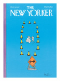 The New Yorker Cover - October 10, 1977 Regular Giclee Print by Arnie Levin