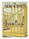 The New Yorker Cover - March 22, 1969 Premium Giclee Print by James Stevenson