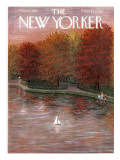 The New Yorker Cover - October 20, 1956 Premium Giclee Print by Edna Eicke