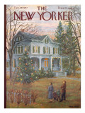 The New Yorker Cover - December 14, 1957 Regular Giclee Print by Edna Eicke