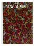 The New Yorker Cover - November 9, 1963 Regular Giclee Print by Charles E. Martin
