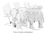 """I knew I smelled something funny."" - New Yorker Cartoon Premium Giclee Print by Danny Shanahan"