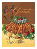 Gourmet Cover - November 1954 Regular Giclee Print by Henry Stahlhut