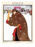 Vogue Cover - November 1920 Premium Giclee Print by Helen Dryden