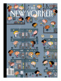 The New Yorker Cover - March 2, 2009 Regular Giclee Print by Ivan Brunetti