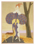 Vogue - September 1924 Premium Giclee Print by George Wolfe Plank