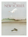 The New Yorker Cover - October 7, 1985 Regular Giclee Print by Andre Francois