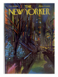 The New Yorker Cover - December 18, 1965 Premium Giclee Print by Arthur Getz
