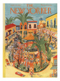 The New Yorker Cover - April 25, 1953 Regular Giclee Print by Ilonka Karasz