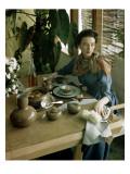 House & Garden - June 1948 Regular Photographic Print by Horst P. Horst