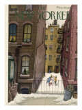 The New Yorker Cover - February 2, 1946 Premium Giclee Print by Edna Eicke
