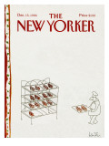 The New Yorker Cover - December 15, 1986 Regular Giclee Print by Arnie Levin