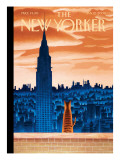 The New Yorker Cover - January 12, 2009 Premium Giclee Print by Mark Ulriksen