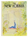 The New Yorker Cover - June 11, 1984 Regular Giclee Print by Jean-Jacques Sempé