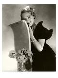 Vanity Fair - March 1934 Regular Photographic Print by Edward Steichen