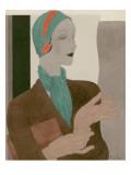 Vogue - February 1931 Regular Giclee Print by William Bolin
