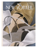 The New Yorker Cover - April 3, 1989 Regular Giclee Print by Gretchen Dow Simpson