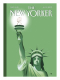 The New Yorker Cover - July 2, 2007 Regular Giclee Print by Bob Staake