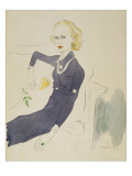Vogue - March 1933 Regular Giclee Print by Cecil Beaton
