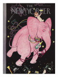 The New Yorker Cover - December 31, 1938 Premium Giclee Print by Rea Irvin