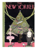 The New Yorker Cover - December 12, 1925 Premium Giclee Print by Rea Irvin