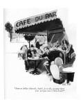 """""""Avec ce dollar déprecié, André, je te dis, on peut vivre pour presque rie… Premium Giclee Print by Carl Rose"""