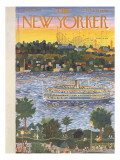 The New Yorker Cover - August 31, 1957 Regular Giclee Print by Ilonka Karasz