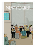 The New Yorker Cover - December 26, 2005 Regular Giclee Print by Adrian Tomine