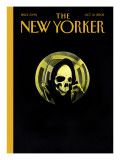 The New Yorker Cover - October 31, 2005 Premium Giclee Print by Ian Falconer