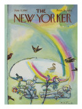 The New Yorker Cover - June 17, 1967 Premium Giclee Print by Andre Francois