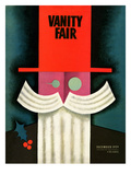 Vanity Fair Cover - December 1929 Regular Giclee Print by Miguel Covarrubias