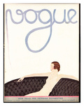 Vogue Cover - August 1930 Regular Giclee Print by André E. Marty