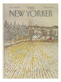 The New Yorker Cover - November 30, 1981 Premium Giclee Print by Arthur Getz