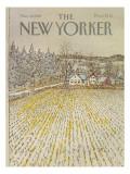 The New Yorker Cover - November 30, 1981 Regular Giclee Print by Arthur Getz