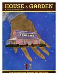 House & Garden Cover - November 1932 Regular Giclee Print by Georges Lepape