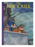 The New Yorker Cover - December 26, 1942 Premium Giclee Print by Peter Arno