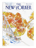 The New Yorker Cover - October 17, 1983 Premium Giclee Print by Arthur Getz