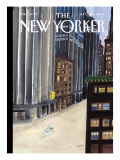 The New Yorker Cover - July 9, 2007 Regular Giclee Print by Jean-Jacques Sempé