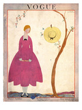 Vogue Cover - May 1917 Premium Giclee Print by Georges Lepape