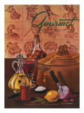 Gourmet Cover - November 1948 Regular Giclee Print by Henry Stahlhut