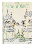 The New Yorker Cover - December 26, 1977 Premium Giclee Print by William Steig