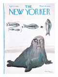 The New Yorker Cover - April 6, 1968 Regular Giclee Print by Andre Francois