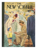 The New Yorker Cover - September 29, 1945 Premium Giclee Print by Perry Barlow
