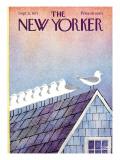 The New Yorker Cover - September 11, 1971 Regular Giclee Print by Charles E. Martin